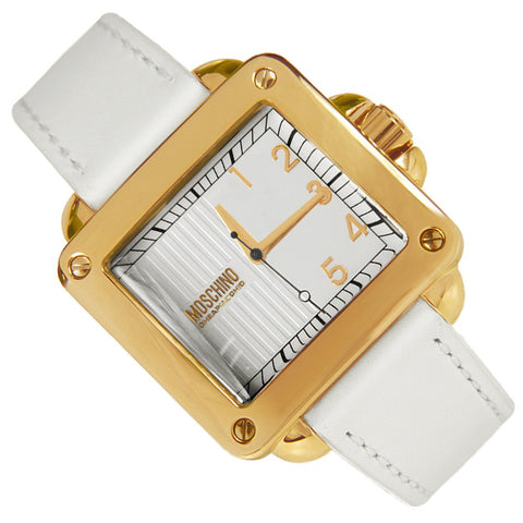 Moschino Cheap and Chic Unit Cuadrado MW0273 Reloj (Nuevo con Etiqueta)