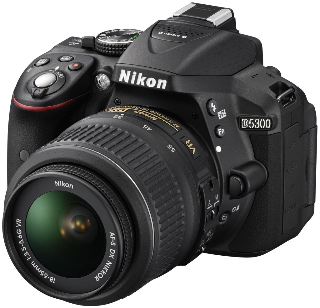 Nikon D5300 Kit (18-55mm)(55-200mm) Negro Réflex cámara digitals
