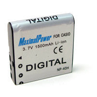 Maximal Power NP-40 (NP40) para Casio cámara digital