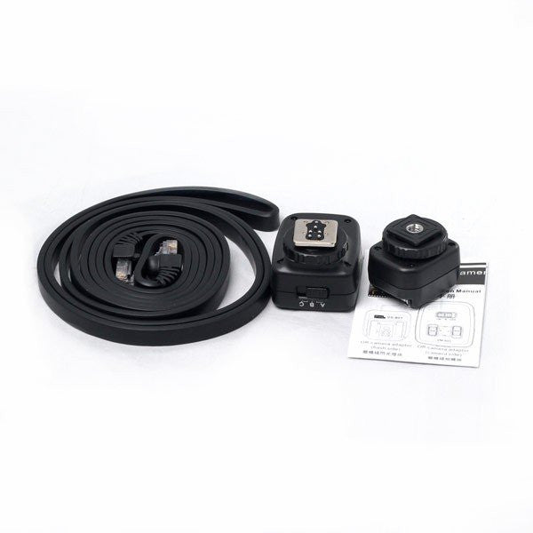 Pixel PF-801 Combined Off Camera Cable para Canon 3.0 meter