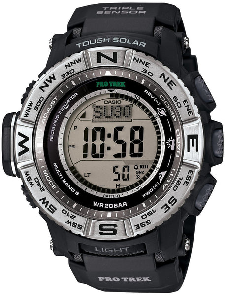 Casio Protrek Multi Field Line Solar PRW-3500-1 reloj (nuevo with