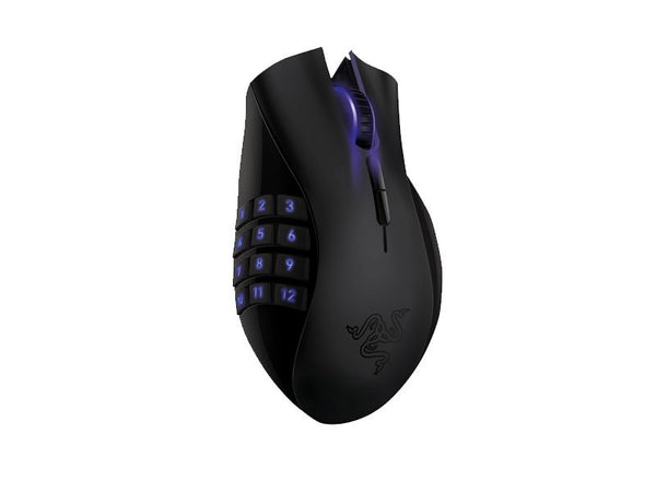 Razer Naga Epic RZ01-00510100-R3A1 Rechargable Wireless Gaming Mouse