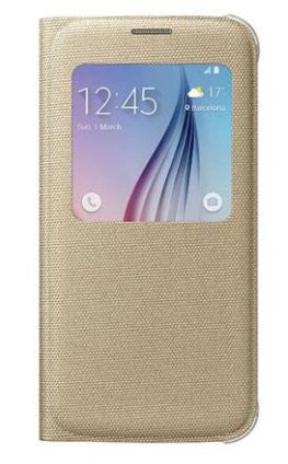 Samsung S-View Fabric Cover para adaptarse Galaxy S6 Edge Plus EF-CG928PFEGWW