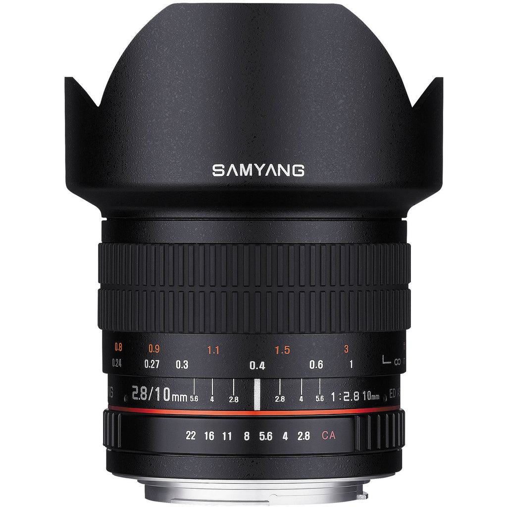 Samyang 10mm f/2.8 ED AS NCS CS Lente (Canon)
