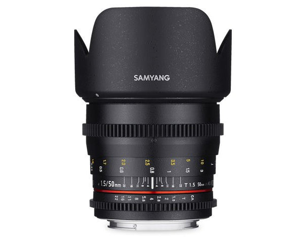Samyang 50mm T1.5 VDSLR AS UMC Lente (Fuji X)