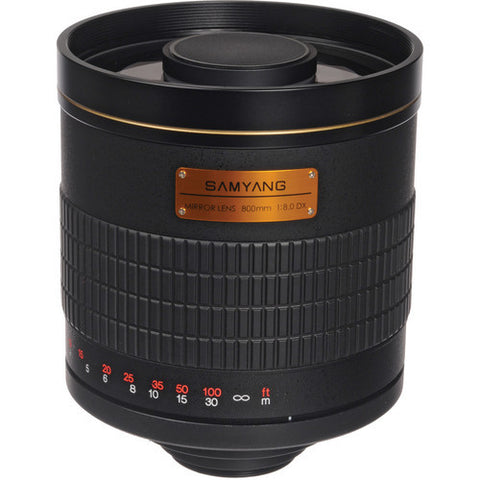Samyang 800mm f/8 T-Mount Adaptador (M4/3)