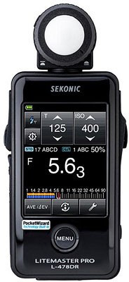 Sekonic L478DR Flash Light Meter