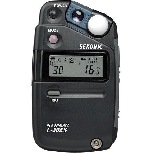 Sekonic L-308s Flash Mate Negro