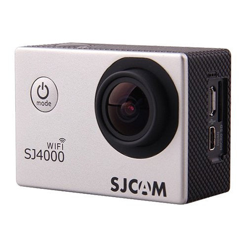 SJCAM SJ4000 WiFi 1080p Full HD DVR Action Sport Camera plata