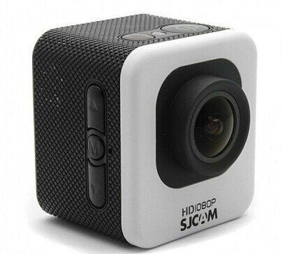 SJCAM M10 Cube Mini 1080p Full HD Action Sport Camera plata