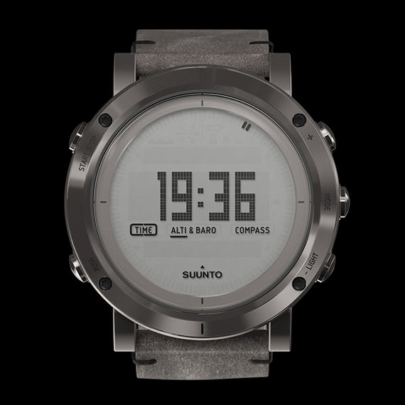 Suunto Essential Collection Outdoor reloj SS021216000 (Steel)