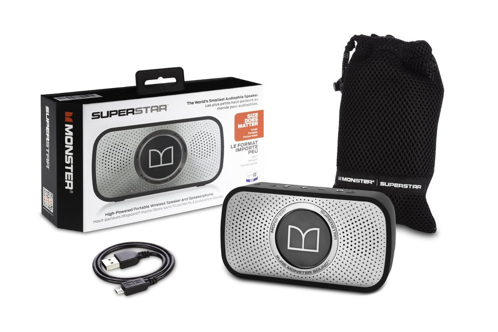 SuperStar High Definition Bluetooth Altavoz 720079 (Grey)