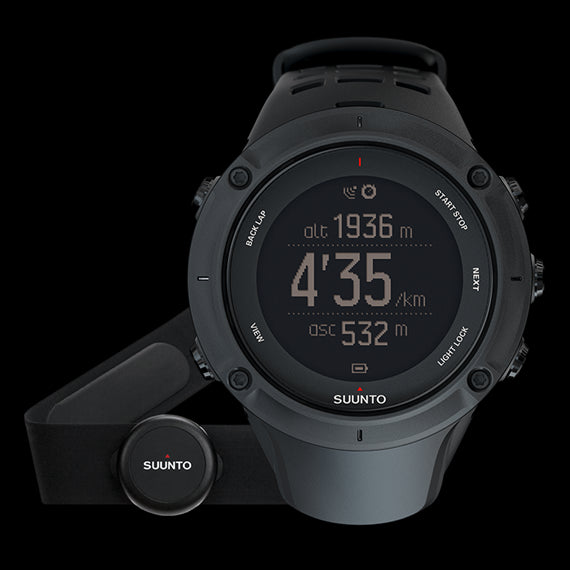 Suunto Ambit3 Peak SS020674000 GPS Sports reloj Negro (HR)