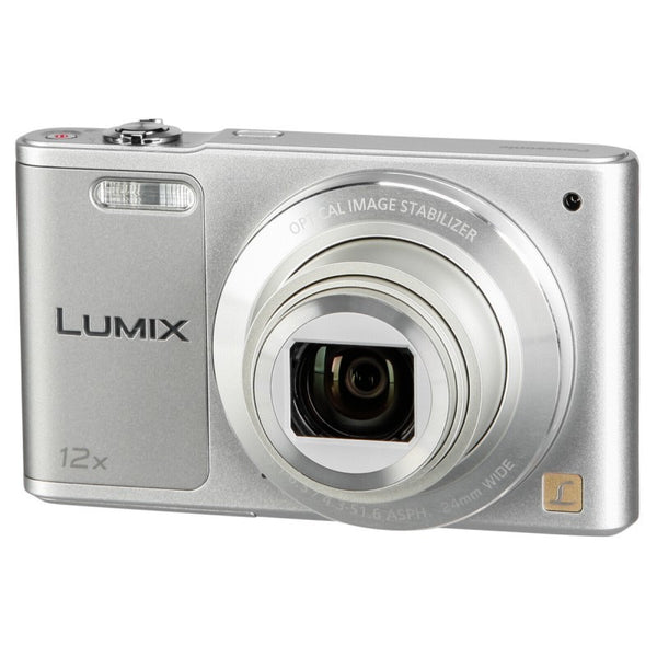 Panasonic Lumix DMC-SZ10 plata cámara digital