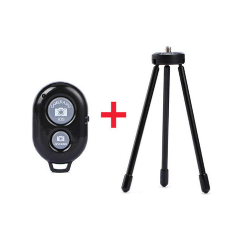 Universal Phone Camera Remote Control Self Timer with Tripod