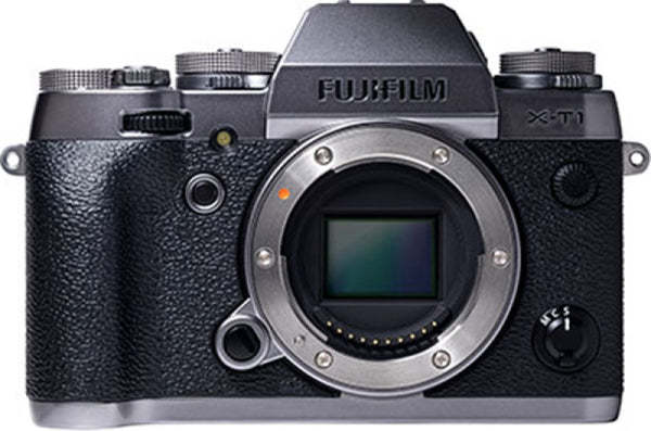 Fuji Film X-T1 Mirrorless Body plata cámara digital