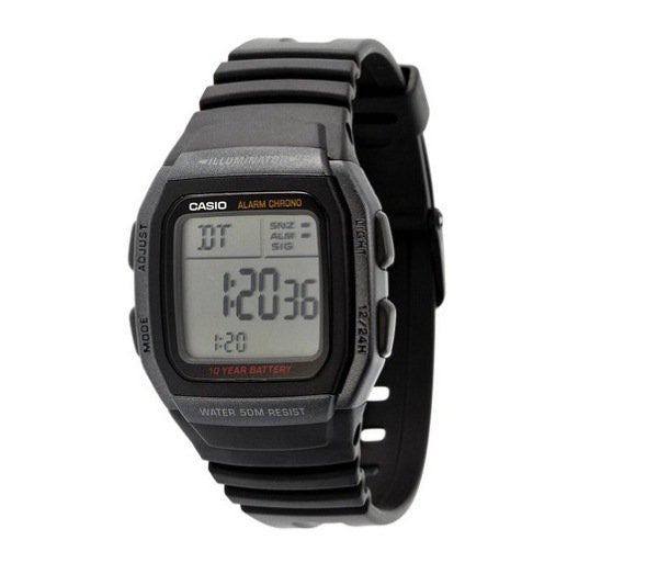 Casio Youth Digital W-96H-1BV reloj (nuevo conTags)