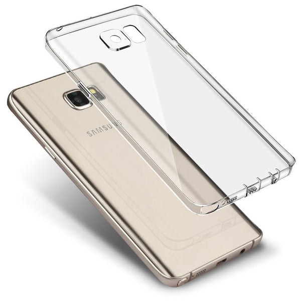 Samsung Galaxy Note 5 silicioe Cover (Blanco)