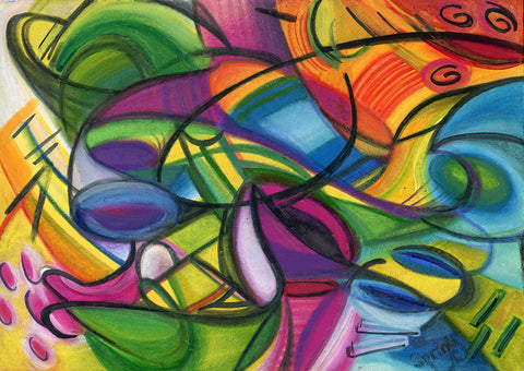 abstract artwork by Spring Wise Arts