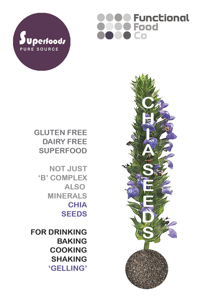 Functional Foods - Organic Chia Seeds