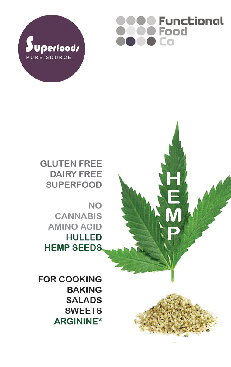 Functional Food - Organic Hulled Hemp