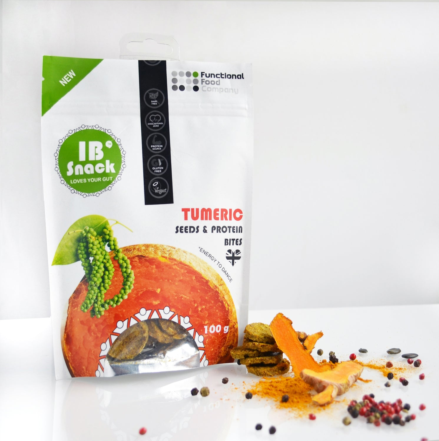 IB Snack - Savoury, Seeds & Protein Crackers - Multipack - love your gut!