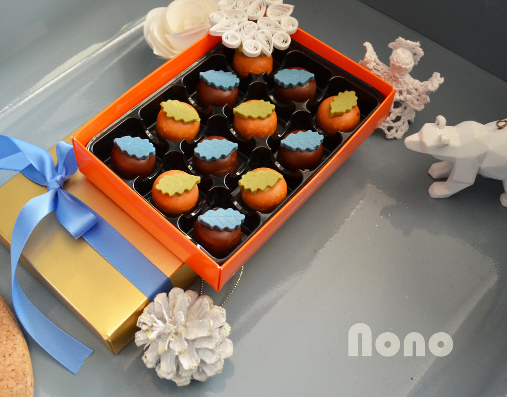 Nono Cocoa - Spicy Orange Caramel - Vegan Chocolate