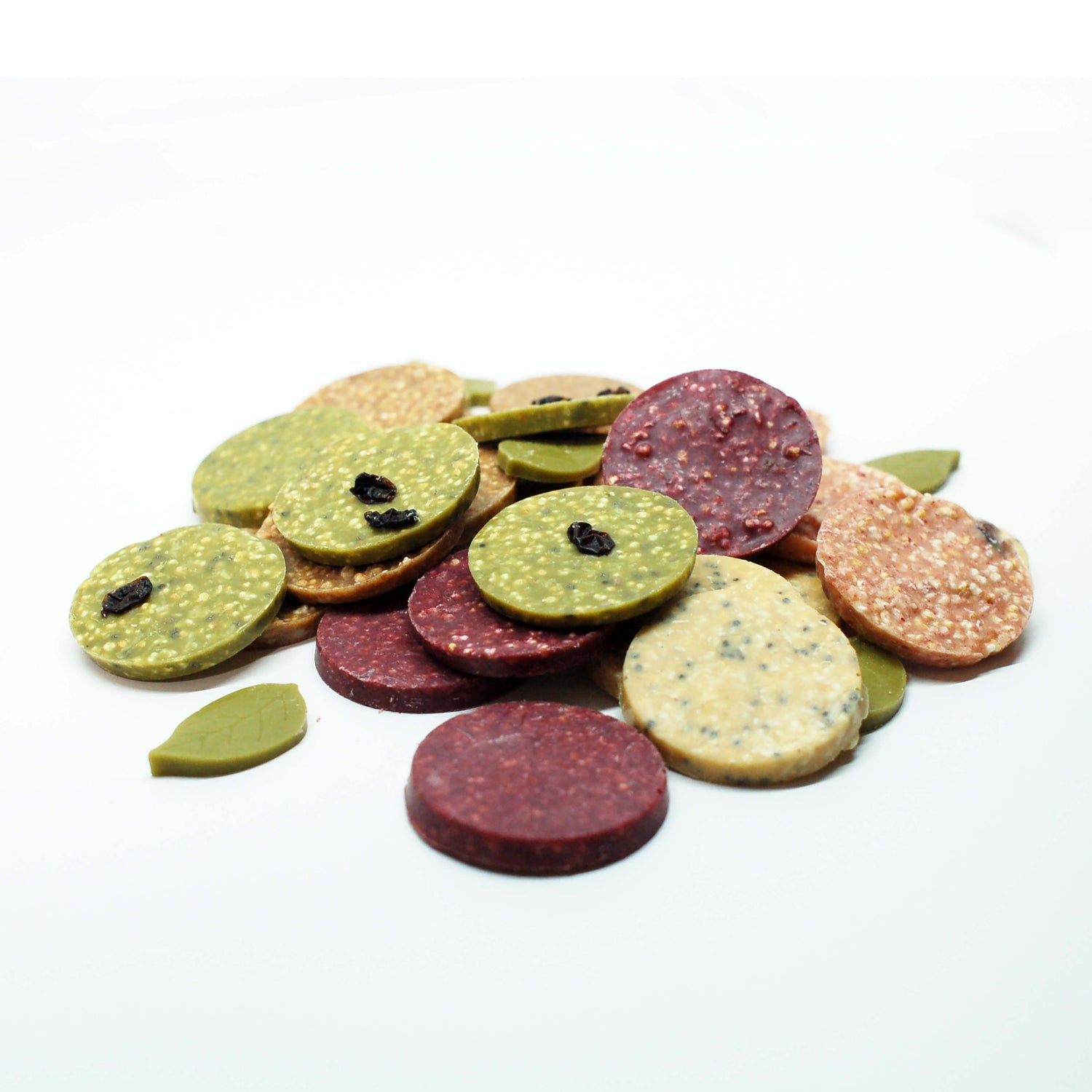 Nono Cocoa Chocolate Buttons - RASPBERRY & BEETROOT