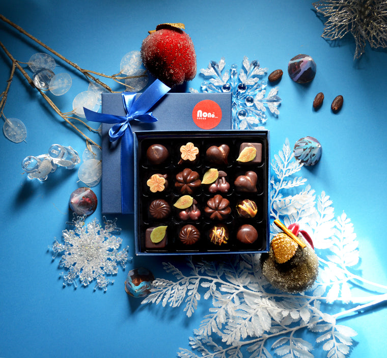 NEW! Nono Cocoa - Winter Dark - Vegan Chocolate Gift Box