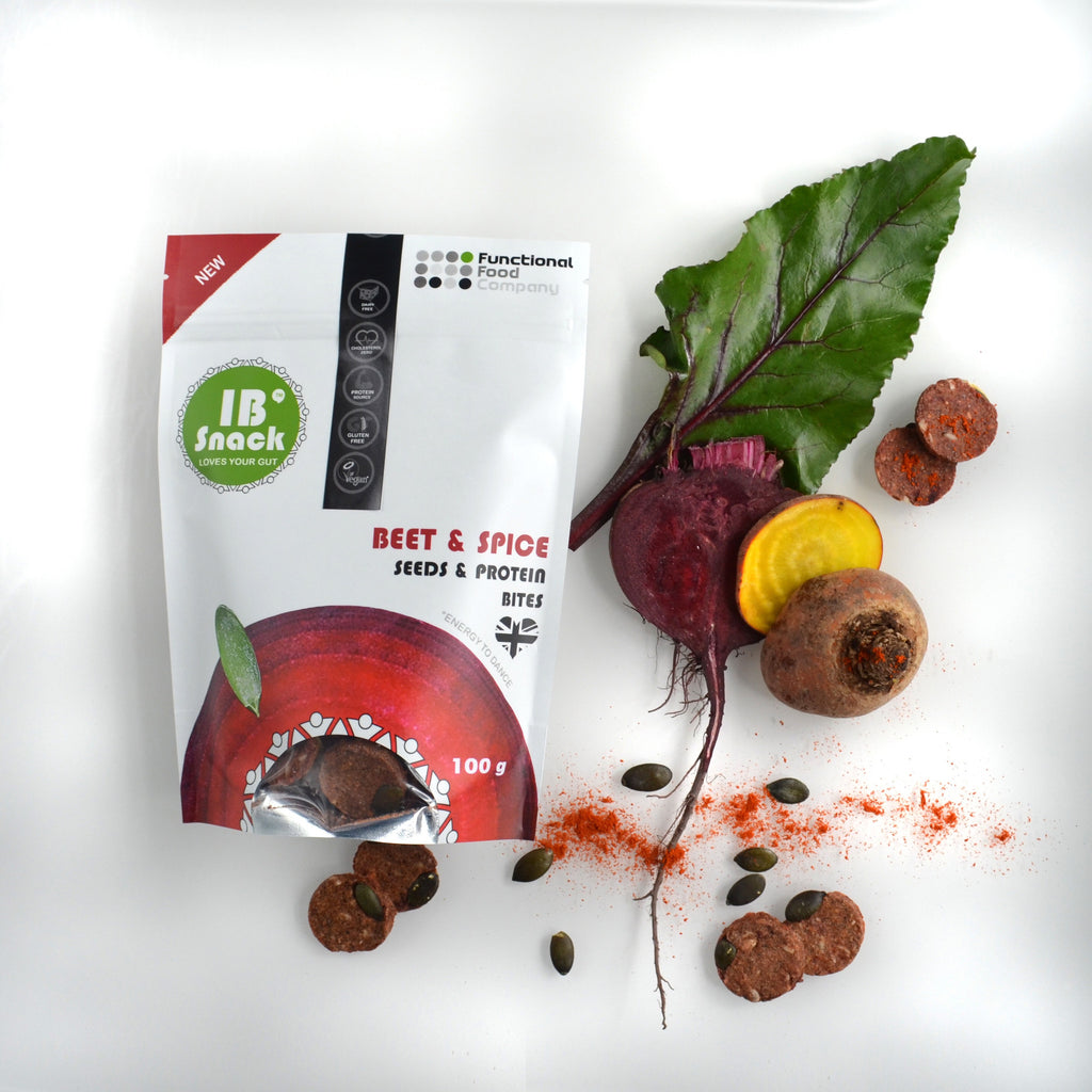 Beetroot and spice snack