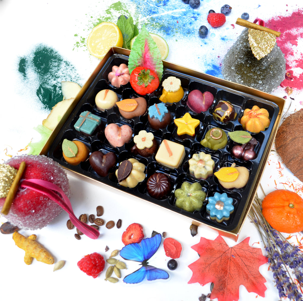 Nono Cocoa Exclusive - 24 Collection - Vegan Chocolate Gift Box