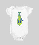 Baby Monthly Ties (baby onesie)