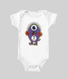 Baby Monthly Monsters (baby onesie)