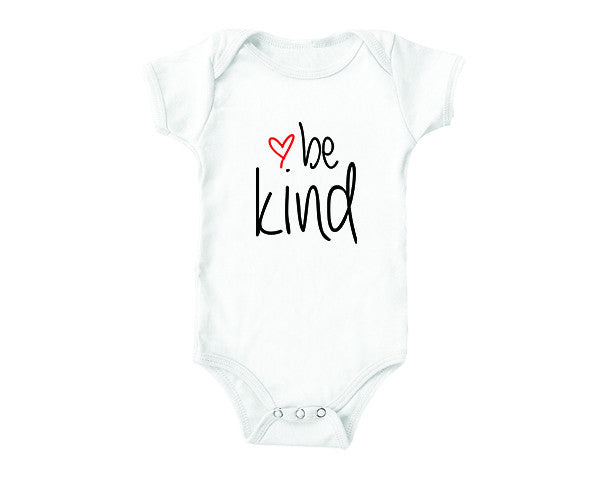 Be Kind (baby onesies)