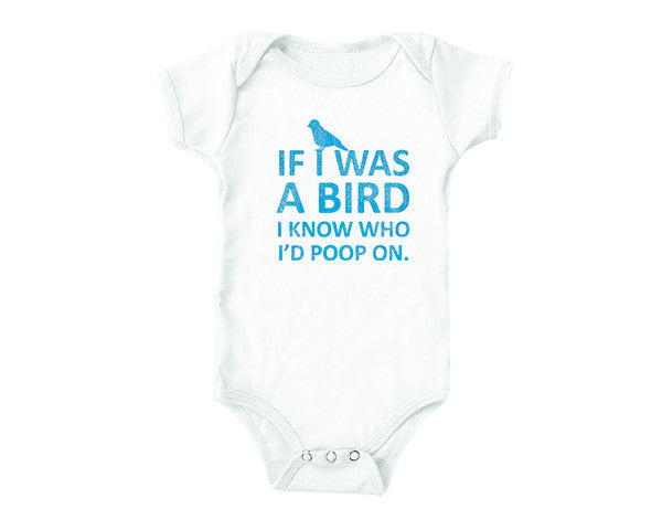If I was a Bird (baby onesies)