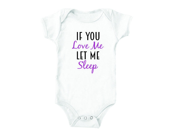 If You Love Me (baby onesies)