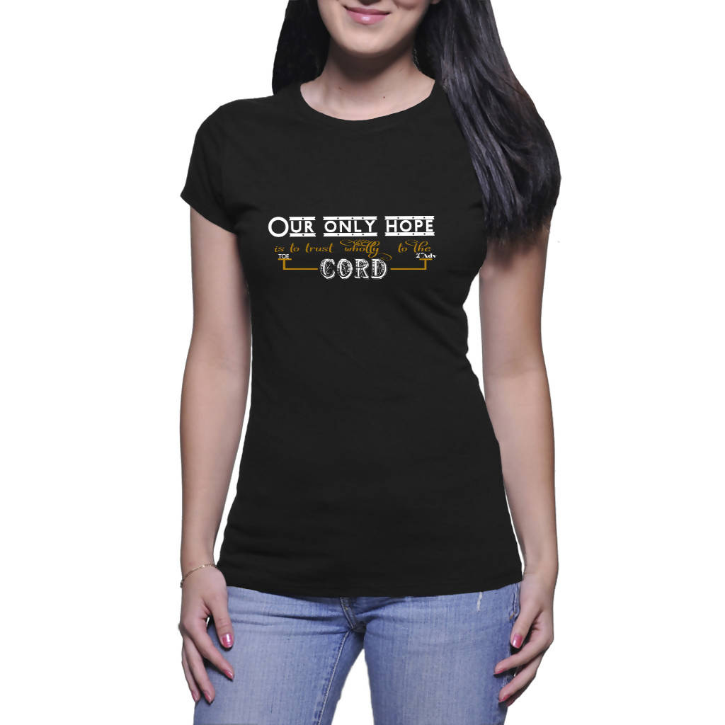 Only hope - Ladies T-shirt (Twin's Designs)