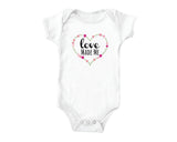 Love Made Me (baby onesies)