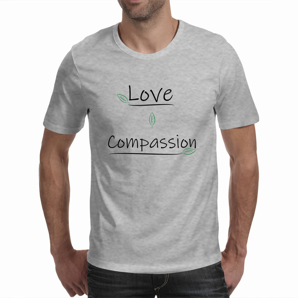 Love & Compassion - Men's Tee (Good Vibe Revolution)