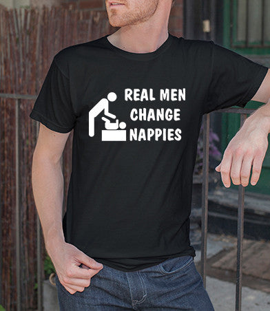 Real Men Change Nappies (Men)