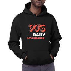 90's Baby Have Beards - Hoodie (Quiquari Clothing)