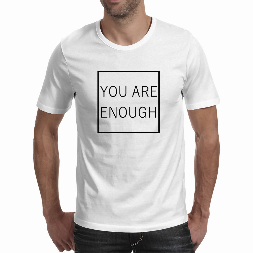 You Are Enough – Men's Tee (Good Vibe Revolution)