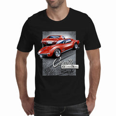 Corvette C3 Black/Dark Shirt (Stefan's Auto Art) A3