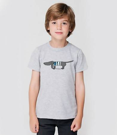 Stripe blue kids - tee shirt (oli+frank)