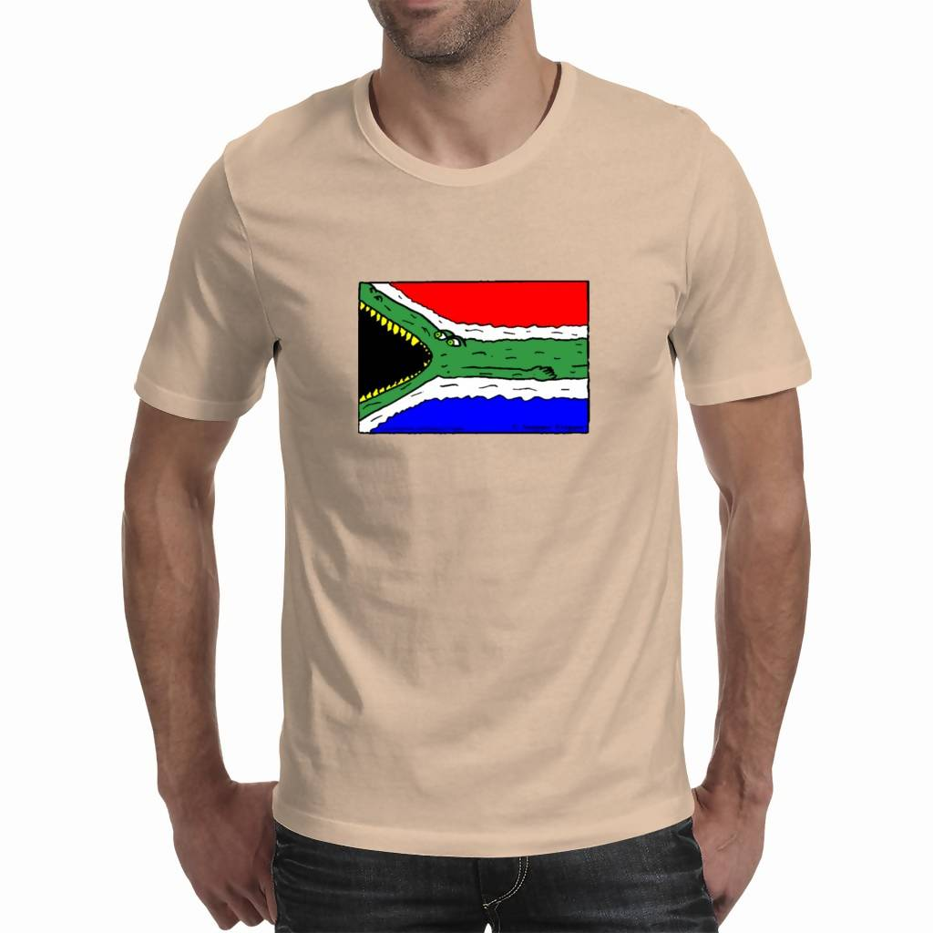 Funny SA - Men's T-shirt ( Snapper Trapper™ Comics )