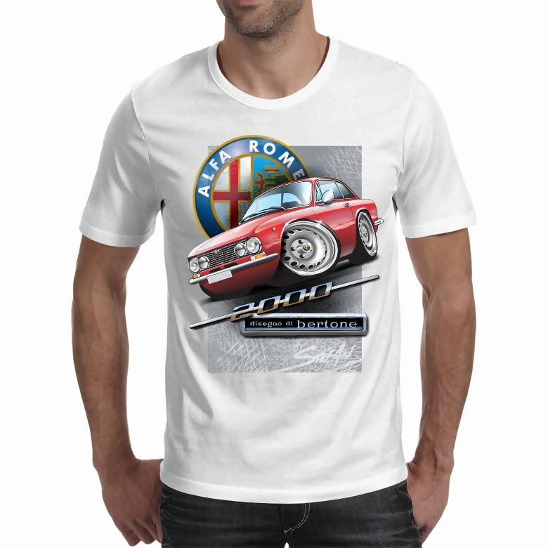 Alfa Romeo 2000 GTV White/Light Shirt (Stefan's Auto Art) A3