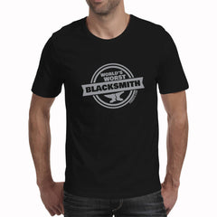World's Worst Blacksmith - Men's T-Shirt (Forge 15)