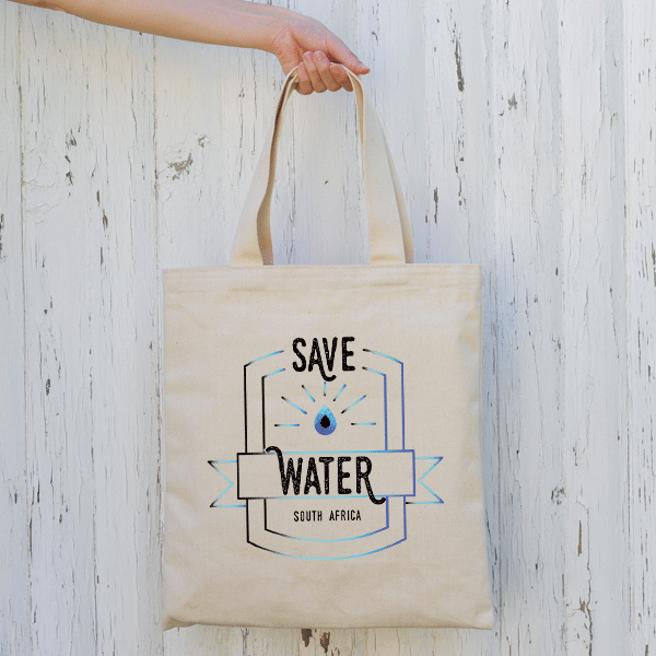 Save Water (Canvas Tote Bag)