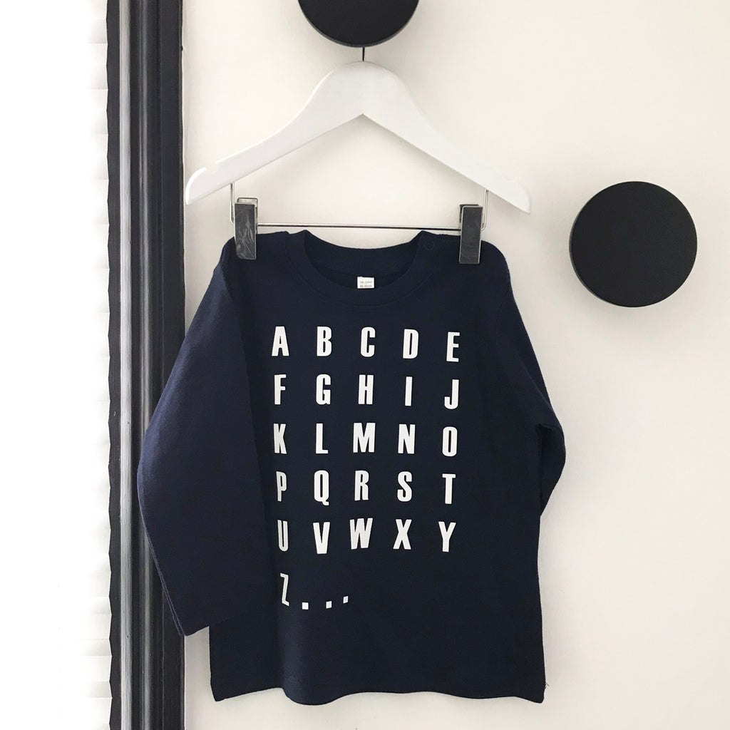 Alphabet Toddler Top