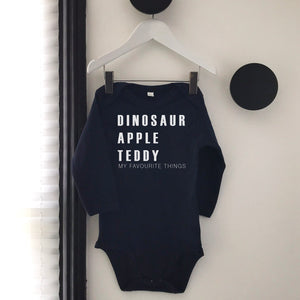 My Favourite Things Toddler Top